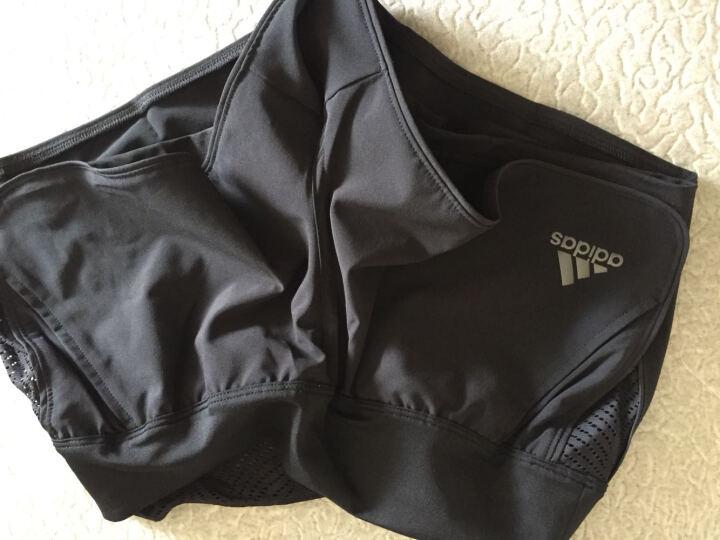 阿迪达斯adidas 网球服 女19澳网海洋PARLEY网球服  运动背心 短裙 白色短裤BQ8478 欧版 S 晒单图