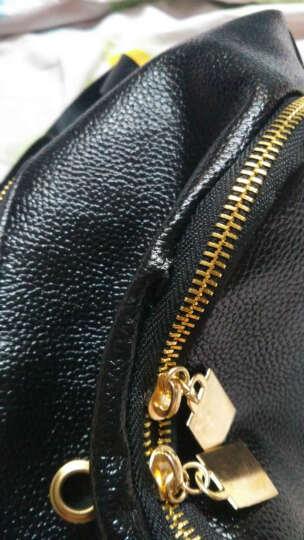 诗曼妮(Shimanni)女包时尚五款款双肩包 水洗皮柳钉简约背包 8806净面柳钉 晒单图