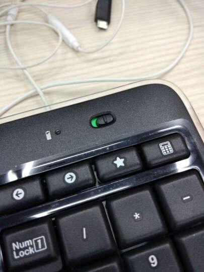 罗技(Logitech)MK520 无线键鼠套装 无线鼠标无线键盘套装 晒单图