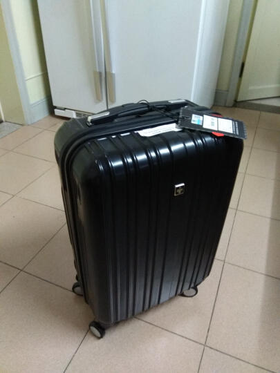 瑞士十字SWISSWIN 拉杆箱 男女商务行李箱ABS+PC大容量旅行箱万向轮轻便登机箱 金色 24英寸(托运箱) 晒单图