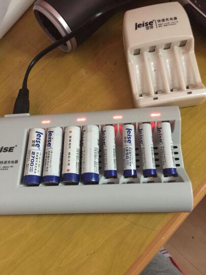 雷摄(LEISE)高容量系列 5号AA2700毫安五号镍氢充电电池(12节) 适用:KTV麦克风/电动玩具/鼠标键盘 晒单图