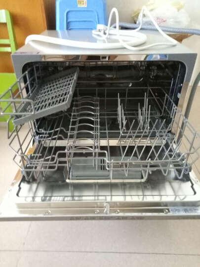 美的(Midea)6套 WiFi智控洗全智能除菌台式家用洗碗机WQP6-W3604J-CN 晒单图
