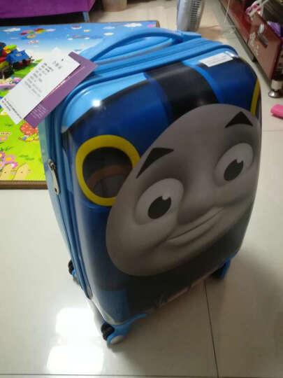 唯尔亿(we)儿童旅行箱万向轮拉杆箱18寸男女行李箱宝宝可爱卡通小箱子20寸拖箱亲子拉杆箱 002款恐龙 20寸适合7岁已上小朋友使用 晒单图