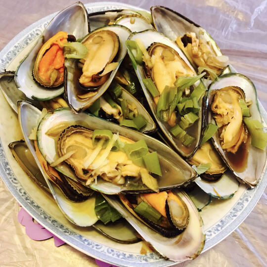 【活鲜】yuepw 大连鲜活蛏子 500g 20-30只  海鲜水产 晒单图