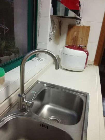 维美艺佳(VIMIKA) 304不锈钢厨房水龙头 可旋转抽拉冷热洗菜盆水槽水龙头 304不锈钢抽拉龙头 晒单图