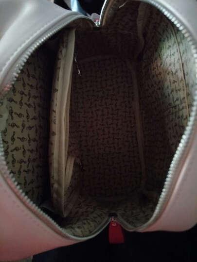 不莱玫新款包包女夏双肩包韩版背包书包小清新 爆米红 晒单图