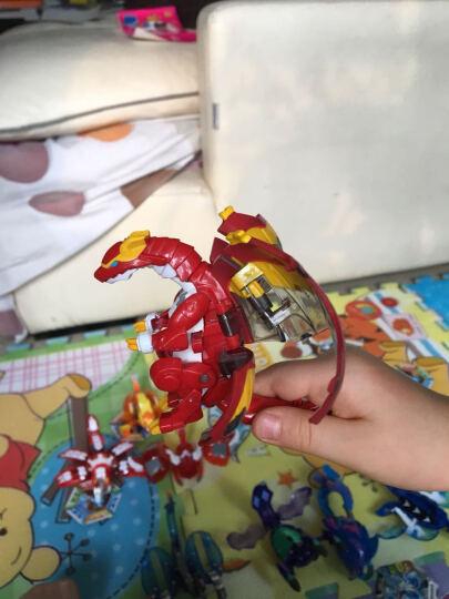 灵动创想(LDCX) 灵动创想爆兽猎人爆丸自动变形蛋对战出阵爆变套装儿童玩具 翔龙骑士(豪华爆变套装) 晒单图