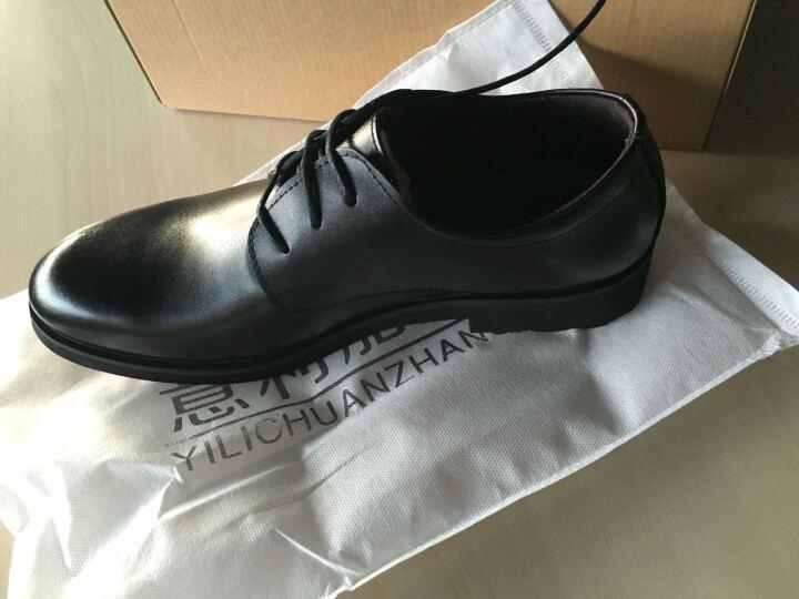 意利船长 男士皮鞋正装男士休闲鞋男鞋商务休闲皮鞋1663 S-1663黄色 42 晒单图
