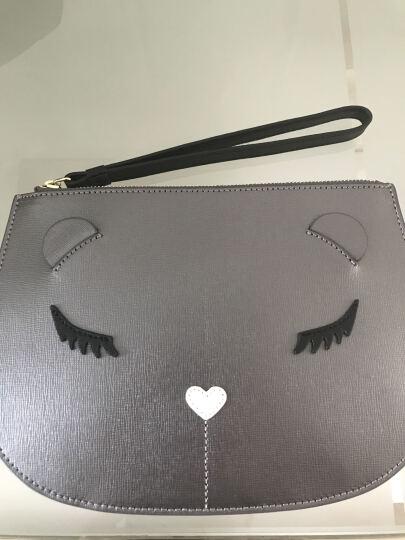FURLA 芙拉 女士ALLEGRA系列银色牛皮手拿包 850770 E EN32 SFM 晒单图