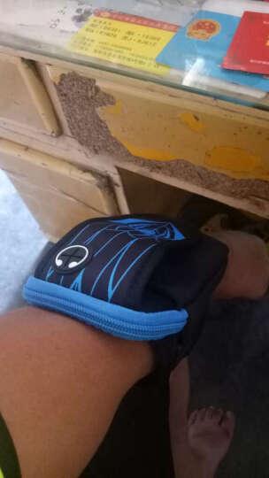 美斯捷 手机臂包跑步男式女士5.5英寸臂套袋手臂包手腕 苹果/华为/OPPO/小米/魅族/vivo通用蓝色 晒单图
