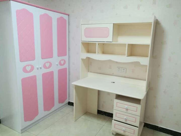七彩元素 儿童书桌 电脑学习台 粉色转角书柜8301S 直角书桌(不含椅子) 晒单图