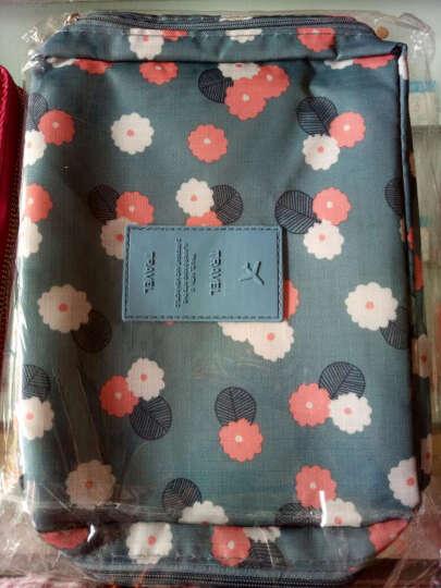 啄木鸟(TUCANO)女式包包 女士钱包长款牛皮 粉色手拿包手抓包大容量 韩版女包 1001梅红 晒单图