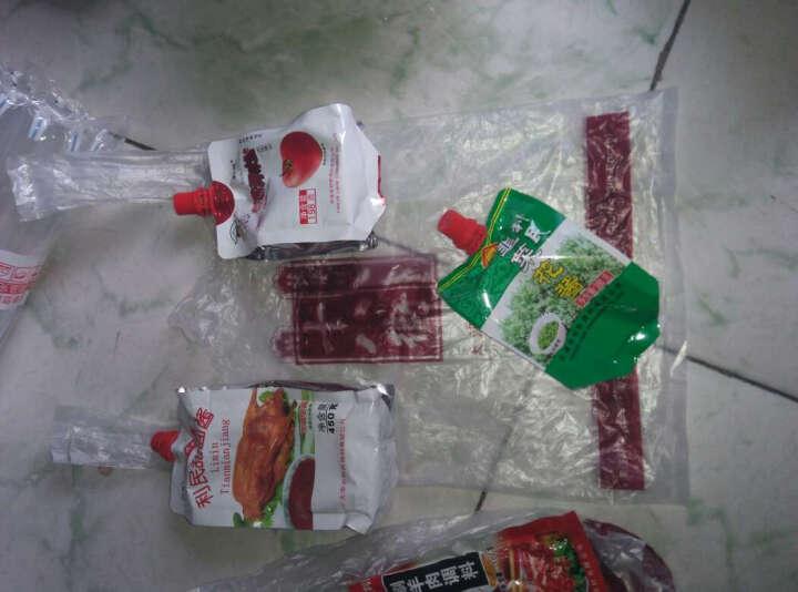 【天津馆】利民甜面酱 炸酱面烤鸭酱煎饼果子调料 150克*5袋装 省0.3元赠甜面酱150g1袋 晒单图