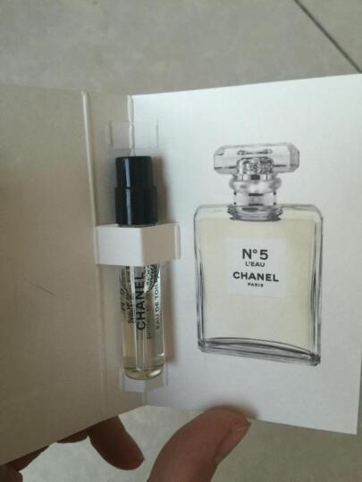 香奈儿(Chanel) Chanel香奈儿女士淡香水浓男 NO.5号淡香水EDT 20ML*3旅行装 晒单图