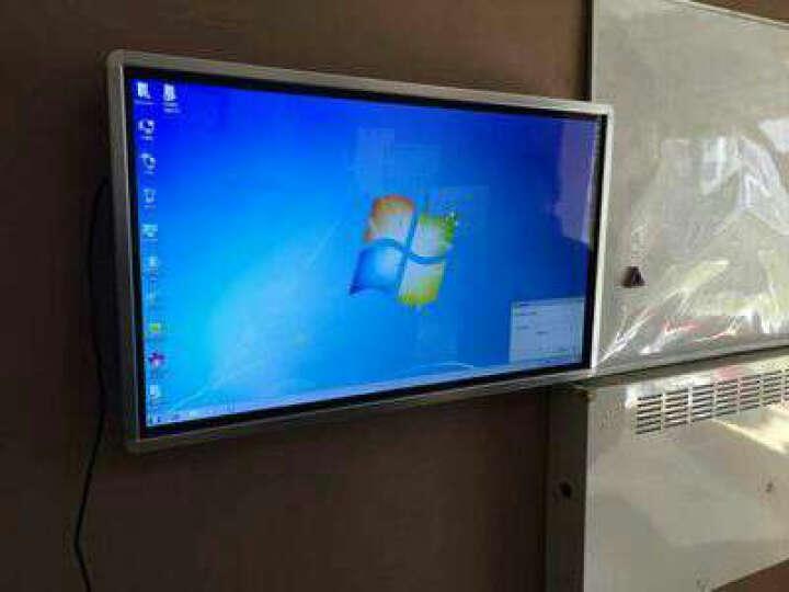 森克 多媒体教学一体机 壁挂式幼儿园电子白板 触摸屏视频会议平板电视电脑触控查询机 I3/4G/120G固态 42英寸 晒单图