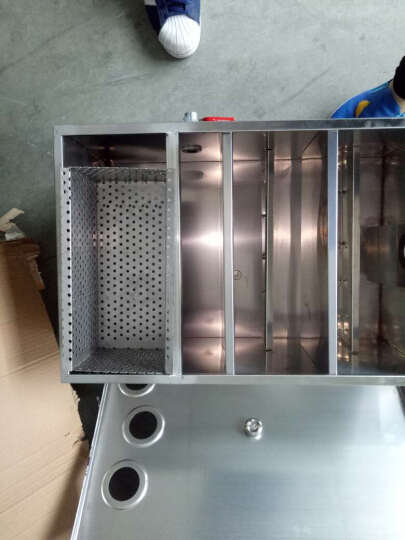 纳丽雅(Naliya)  油水分离器过滤器厨房隔油池分离设备下水道不锈钢隔油池 500*290*290 晒单图
