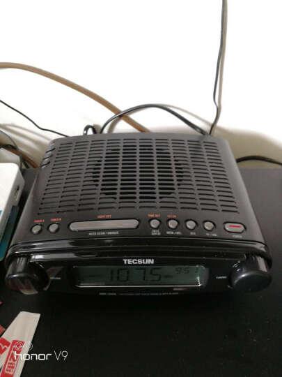德生(Tecsun)MP-300 收音机 音响 插卡音箱 老年人 立体声 半导体 U盘MP3播放器 时钟收音机(黑色) 晒单图