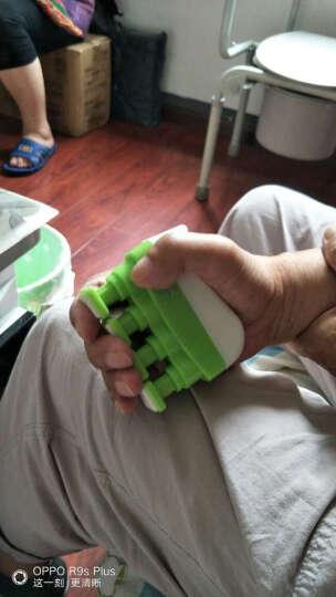 可力 钢琴吉他指力器 偏瘫受伤手指康复训练练习器 可调节握力器 青葱绿  爆天星 晒单图
