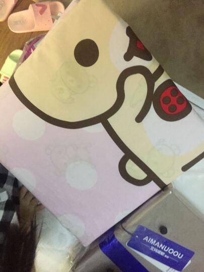 LOVO家纺 罗莱生活出品床上四件套全棉床品卡通床品套件 轻松小熊系列 小淘气 1.5米床(被套200x230cm) 晒单图