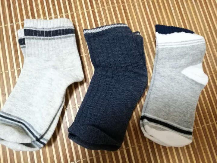 网易严选 3双装 小绅士经典童袜(男童)男孩袜子春夏纯棉长袜运动袜 透气吸湿 底长15cm(建议6~8岁) 晒单图