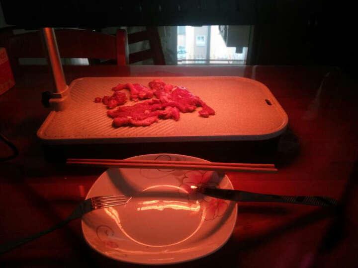 潇烤烧烤炉 多功能家用烧烤炉无烟红外线烧烤架电烤炉室内烧烤 升级版麦饭石烤盘烧烤炉 晒单图