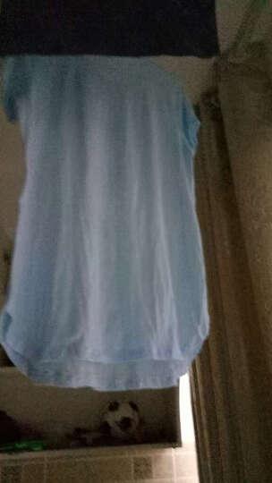 恭宝 孕妇装春秋装孕妇打底衫孕妇上衣T恤长袖女宽松秋季孕妇打底衣 566--细蝴蝶结白色春秋款 XXL 晒单图
