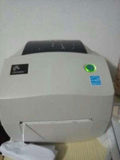 斑马(ZEBRA) GK888t条码打印机 二维码电子面单打印机 热敏不干胶 标签打印机 GK888T(双模式+网口) 晒单图