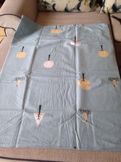 【两件8.8折】千丝雪家纺纯棉床笠四件套全棉婚庆1.8m床上用品床单三件套卡通双人被套 海滩假日 三件套0.9-1.2米床用160*210被套 晒单图