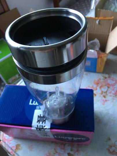 自动搅拌杯 懒人电动奶昔果汁奶粉咖啡杯摇摇杯 自动搅拌杯透明色 透明自动搅拌杯(A款无手柄) 晒单图