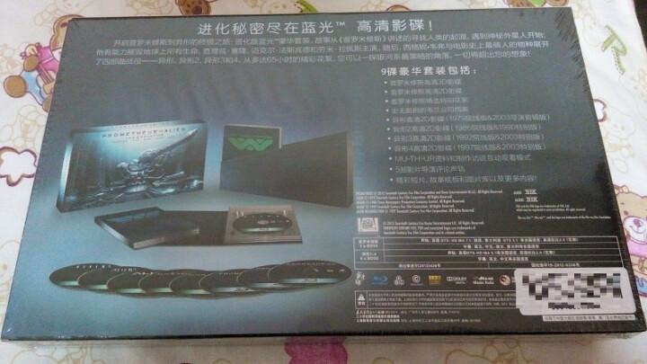 普罗米修斯+异形(1-4蓝光豪华套装)(蓝光碟 9BD50)(原装进口包装)(京东专卖) 晒单图