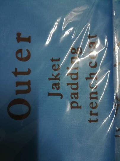 友纳 新款衣服挂袋防尘罩 加厚透明衣物防尘罩牛津布防尘袋 印花-高贵紫 小号  长88cm宽58cm 晒单图