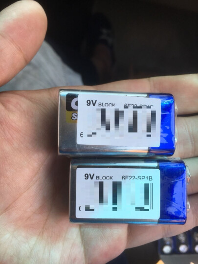 飞狮(Camelion)碳性电池 干电池 6F22/9V/9伏 电池 12节简易装 遥控玩具/烟雾报警器/无线麦克风 晒单图