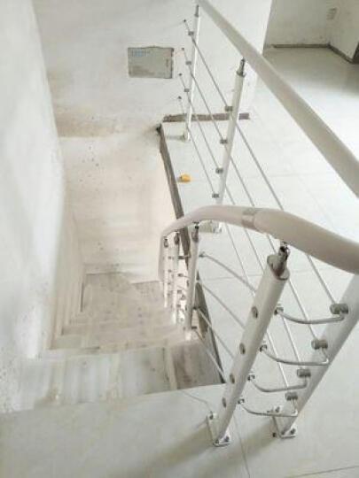蓝伦索室内家用直梁钢木现代简约欧式楼梯 楼梯定制 40mm踏板+精品立柱289元/踏 晒单图