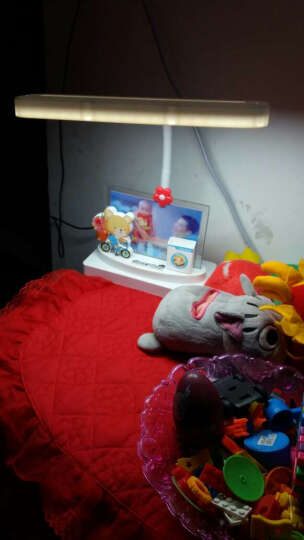 爱眼仕 儿童学习护眼台灯卡通写字护眼灯LED学生书桌卧室床头小台灯插电工作阅读笔筒台灯 三色光升级款 晒单图