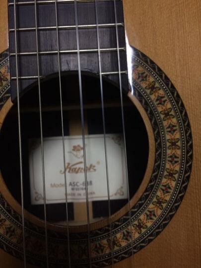 红棉(Kapok) 红棉吉他 高档全单古典吉他 手工吉他木吉他广州红棉吉他现货赠原装琴盒 红松+印玫+乌木ASC-688 39寸圆角 晒单图