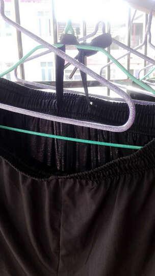 衣图纳 运动短裤男士弹力速干跑步裤夏季薄款透气宽松三分裤健身篮球短裤 0971湖蓝色(带LOGO) L 晒单图