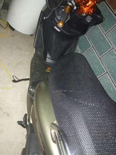 鹰仕莱 新鸿图V6发动机电喷踏板摩托车跑车 可改装上牌 燃油助力车 踏板车 本田灰 晒单图