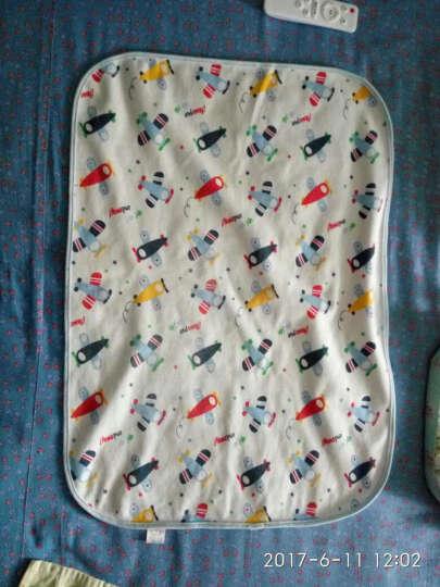 喜凯婴儿隔尿垫大小号尿布宝宝老人护理月经垫透气防水床单可洗四季 飞机的梦想50*70 晒单图