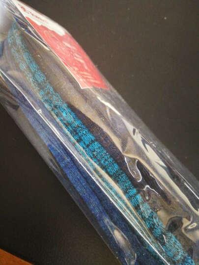 探路者(TOREAD)户外男女情侣袜子三件套装 TELE81862/TELE82861 黑色/太空蓝/深宝蓝-男 均码 晒单图