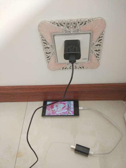 小米 原装手机充电器/数据线快速智能充电 适用于红米note4X/小米3/note红米4A 小米5 QC3.0智能快充充电器+type-c线 晒单图