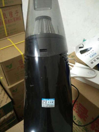 车志酷 车载吸尘器充气泵打气12v车用家用大功率车家两用干湿两用汽车车内吸尘器 车载吸尘器(表针胎压表-黑色) 晒单图