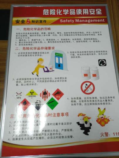 企业文化工厂车间标语5S 6S 7S 8S质量管理挂图海报宣传画展板 一张裱画板+仿铝塑料边框(一张的价格不是一套) 晒单图