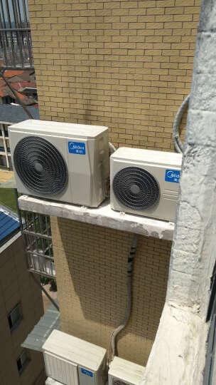 美的(Midea)正1.5匹 京东英雄 壁挂式冷暖定速空调KFR-35GW/WPAD3 晒单图