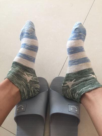 南极人袜子10双装 袜子男时尚花纹棉袜 男袜舒适透气中筒袜男 十双礼盒装 中筒-5深灰+3黑色+2浅灰 均码 晒单图