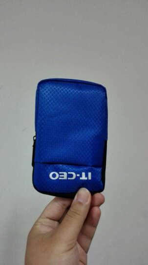 IT-CEO V314-C 2.5英寸移动硬盘包保护套/防水防震便携式收纳包/数码相机包套 蓝色 晒单图