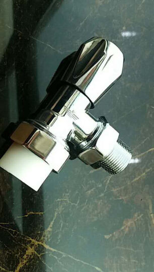 新飞 暖气片家用水暖温控阀门铜铝钢制暖气PPR管温控阀门 PPR管4分角阀(铜) 晒单图