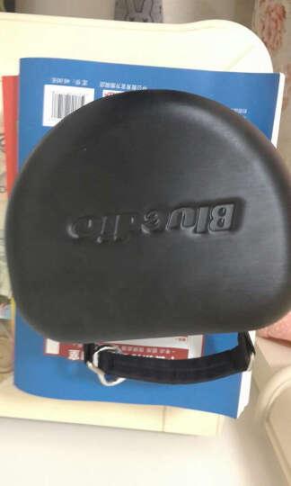 蓝弦 UFO 蓝牙耳机头戴式 8喇叭无线发烧音乐耳机 游戏耳麦 枪色 晒单图