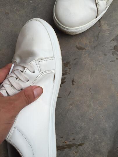 【品牌直营 经典白鞋】卡帝乐鳄鱼(CARTELO)男鞋休闲鞋 运动户外板鞋 鞋子男士小白鞋TS 黑色1496 40 晒单图