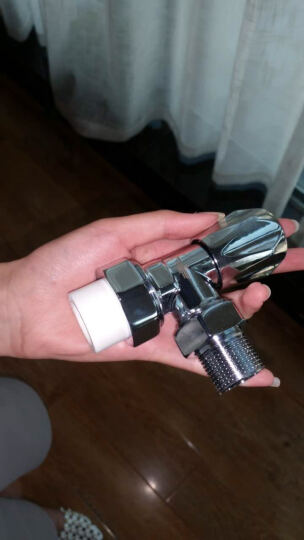 新飞 暖气片家用水暖温控阀门铜铝钢制暖气PPR管温控阀门 PPR管4分直阀(铜) 晒单图