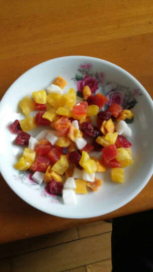 澳怡家泰国进口食品 西贡小姐热带水果木瓜菠萝芒果哈密瓜椰子干60g*7包休闲零食旅游办公特产 按需要备注 晒单图